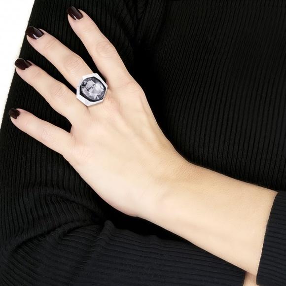 cc3308f10 Swarovski Jewelry | Nib Jean Paul Gaultier Crystal Ring 6 | Poshmark